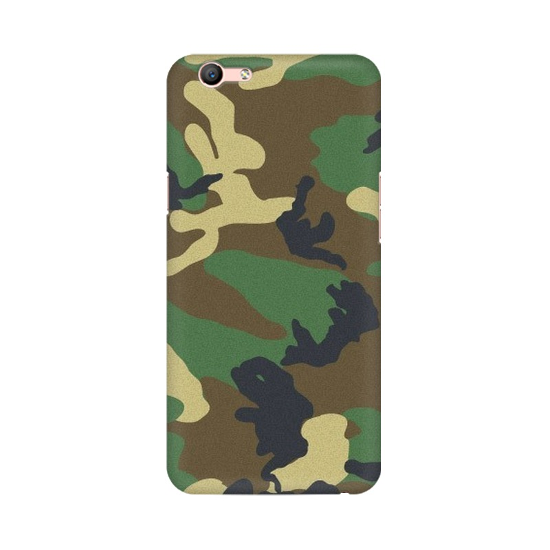 Army Texture Oppo A59 Mobile Cover Case