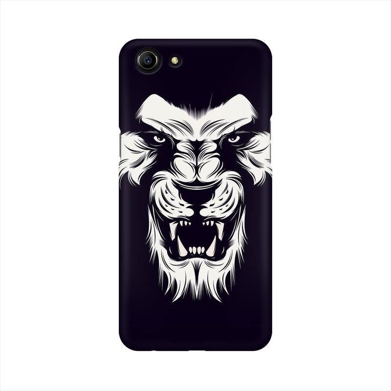 Angry Wolf Oppo A83 Mobile Cover Case