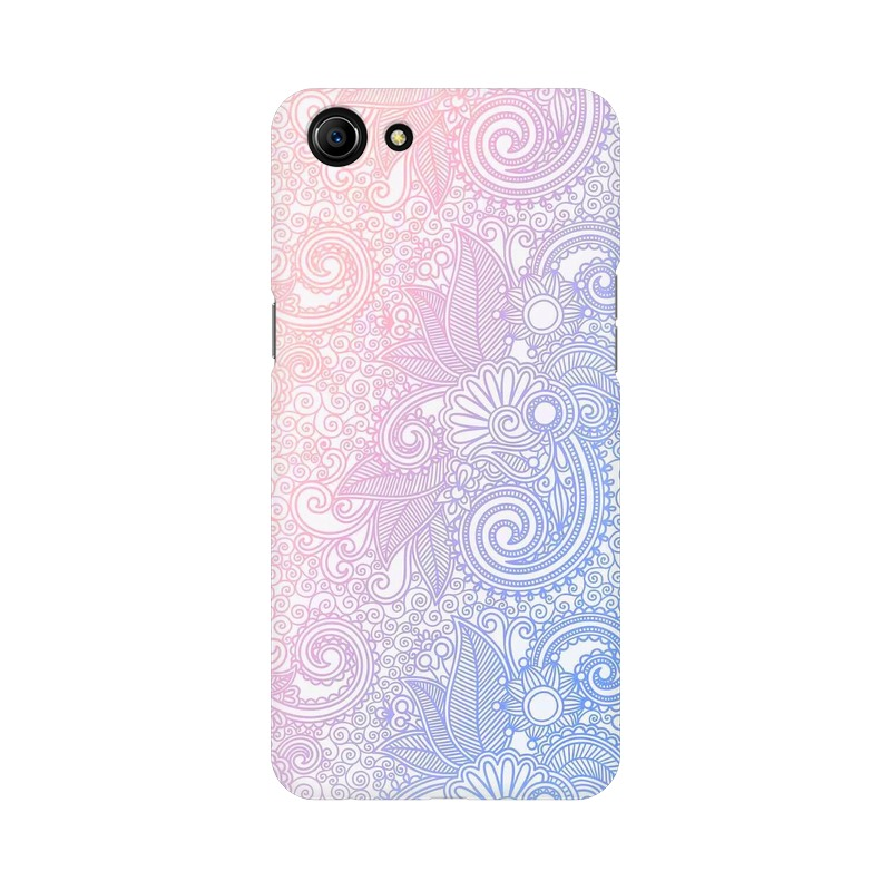 Beautiful rangoli Oppo A83 Mobile Cover Case