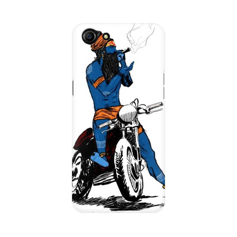 Biker Shiva Oppo A83 Mobile Cover Case
