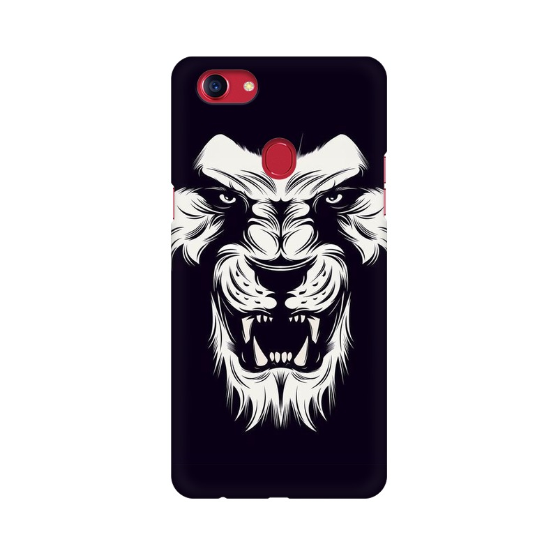 Angry Wolf Oppo F7 Mobile Cover Case