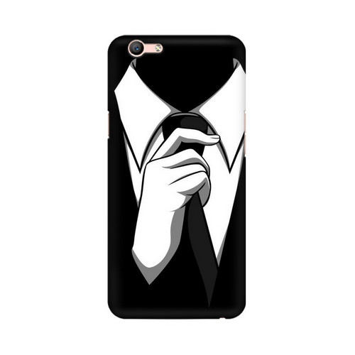 Anonymous Tie Oppo F1S Mobile Cover Case