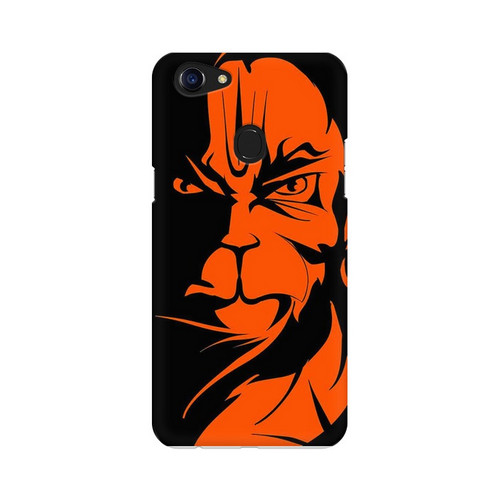 Angry Hanuman Oppo F5 Mobile Cover Case