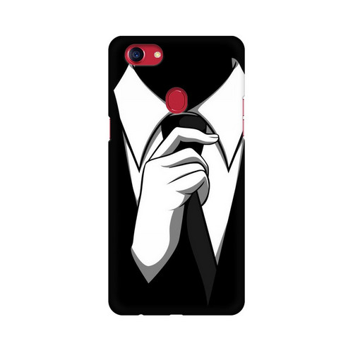 Anonymous Tie Oppo F7 Mobile Cover Case