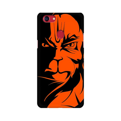 Angry Hanuman Oppo F7 Mobile Cover Case