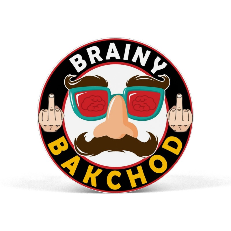 Brainy Bakchod Pop Socket Grip Mobile Holder