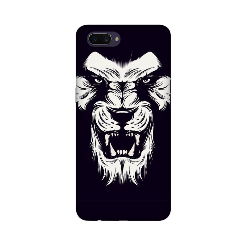 Angry Wolf Oppo Realme C1 Mobile Cover Case
