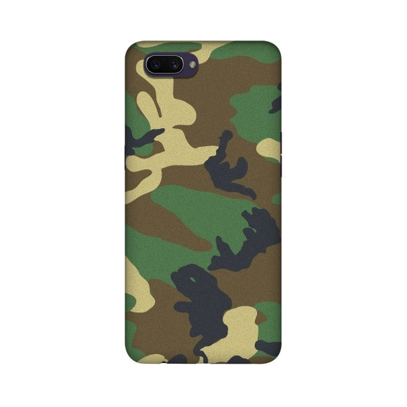 Army Texture Oppo Realme C1 Mobile Cover Case
