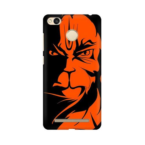 Angry Hanuman Xiaomi Redmi 3S Prime Mobile Cover Case