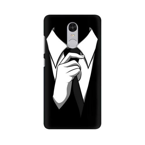 Anonymous Tie Xiaomi Redmi Note 4 Mobile Cover Case