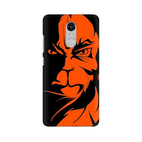 Angry Hanuman Xiaomi Redmi Note 4 Mobile Cover Case