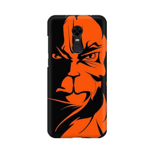Angry Hanuman Xiaomi Redmi Note 5 Mobile Cover Case