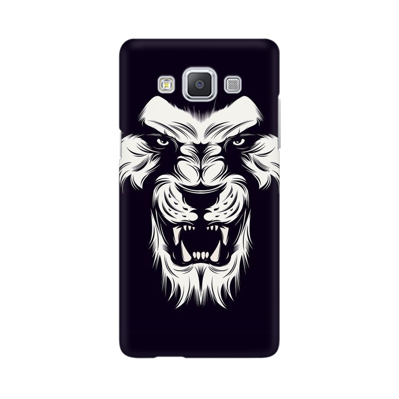 Angry Wolf Samsung Galaxy A5 Mobile Cover Case
