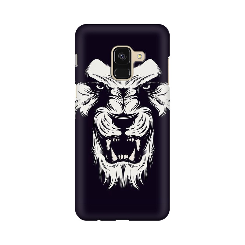 Angry Wolf Samsung Galaxy A8 Plus Mobile Cover Case