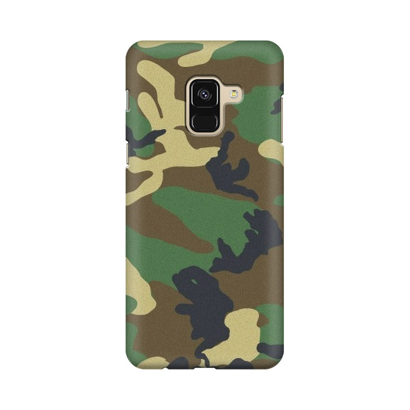 Army Texture Samsung Galaxy A8 Plus Mobile Cover Case