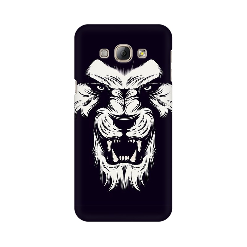 Angry Wolf Samsung Galaxy A8 Mobile Cover Case