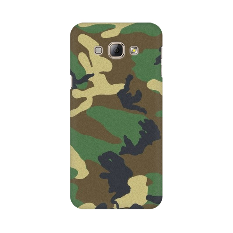 Army Texture Samsung Galaxy A8 Mobile Cover Case