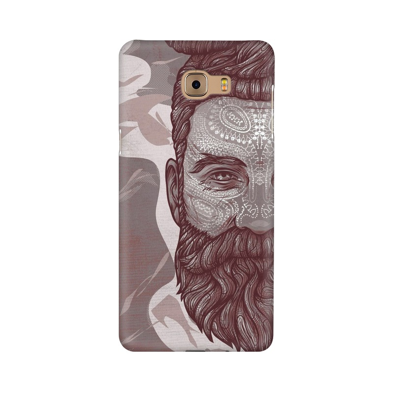 Beardo Man Samsung Galaxy C9 Pro Mobile Cover Case