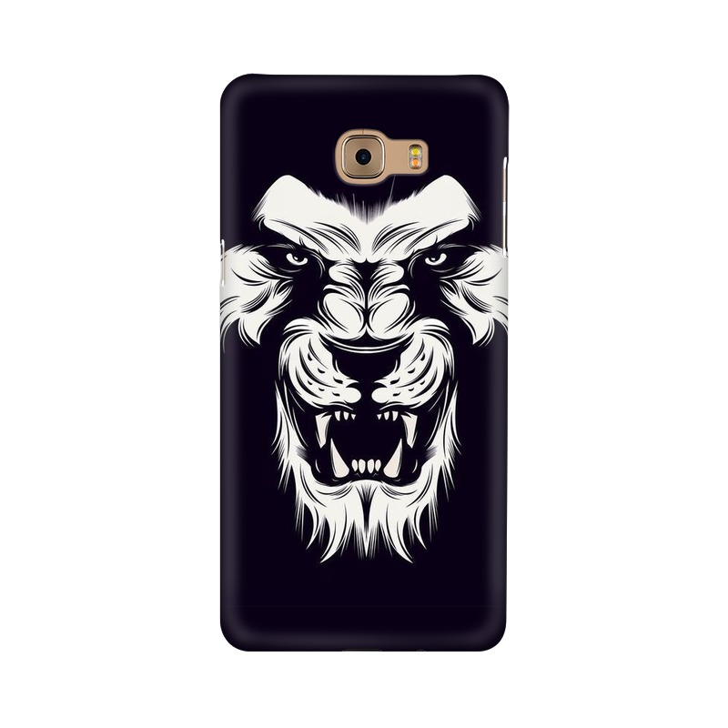 Angry Wolf Samsung Galaxy C9 Pro Mobile Cover Case