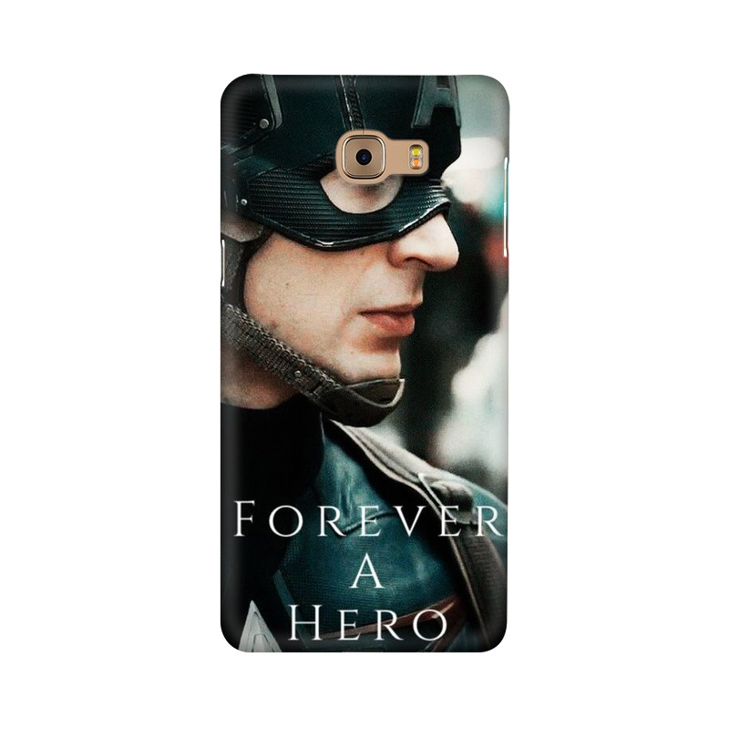 A True Hero Captain America Samsung Galaxy C9 Pro Mobile Cover Case