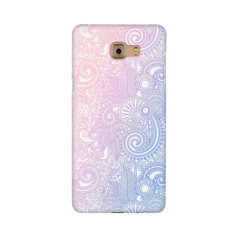Beautiful rangoli Samsung Galaxy C9 Pro Mobile Cover Case