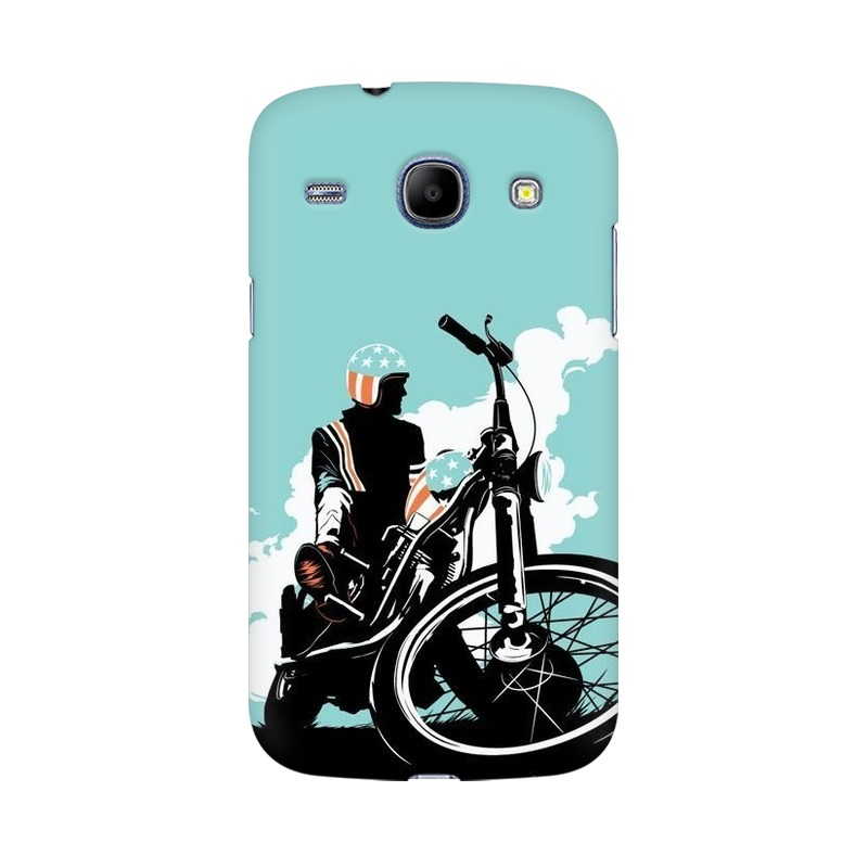 American Biker Samsung Galaxy Grand Duos Mobile Cover Case