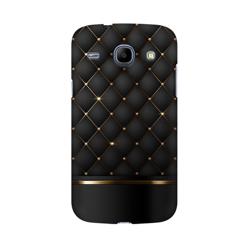 Black Gold Shine Texture Samsung Galaxy Grand Duos Mobile Cover Case