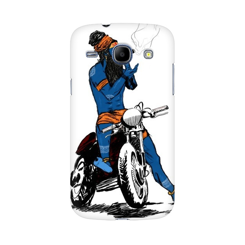 Biker Shiva Samsung Galaxy Grand Duos Mobile Cover Case
