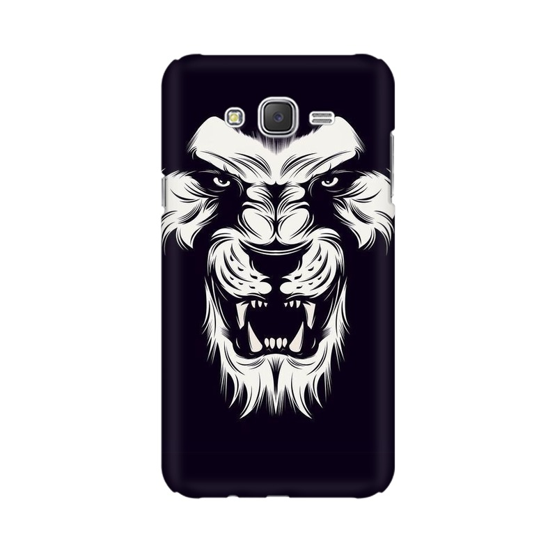 Angry Wolf Samsung Galaxy J2 (2017) Mobile Cover Case