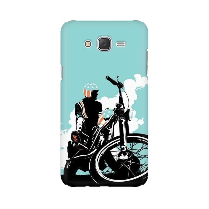 American Biker Samsung Galaxy J2 (2017) Mobile Cover Case