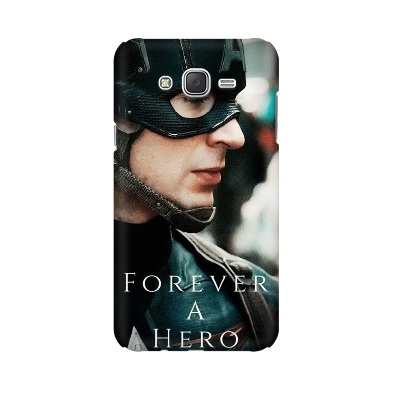 A True Hero Captain America Samsung Galaxy J2 (2017) Mobile Cover Case