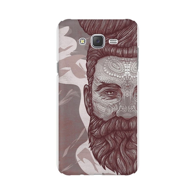 Beardo Man Samsung Galaxy J2 (2017) Mobile Cover Case