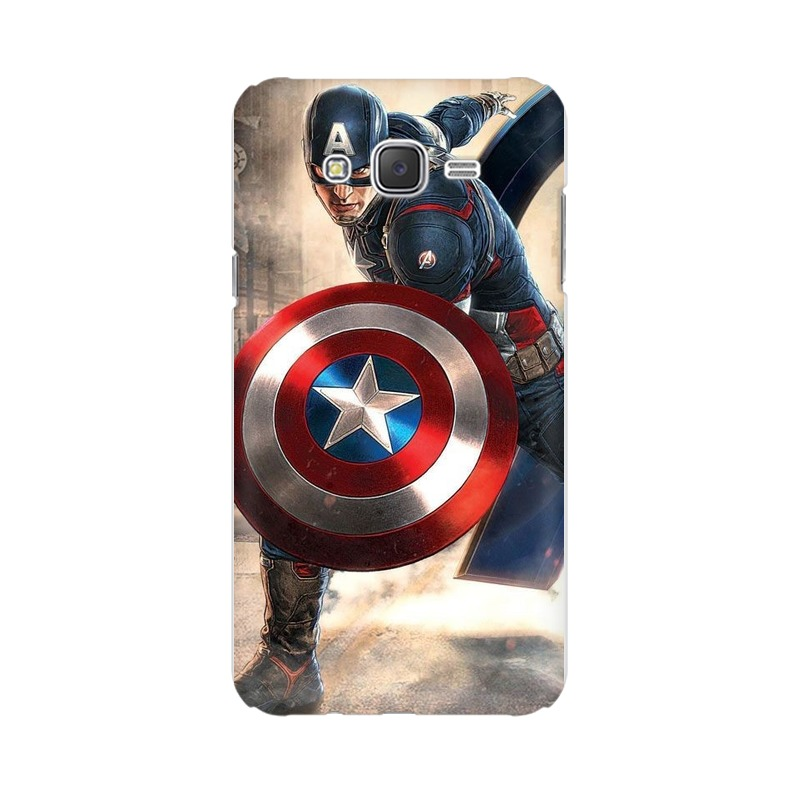 Captain America Fighting Samsung Galaxy J2 (2017) Mobile Cover Case