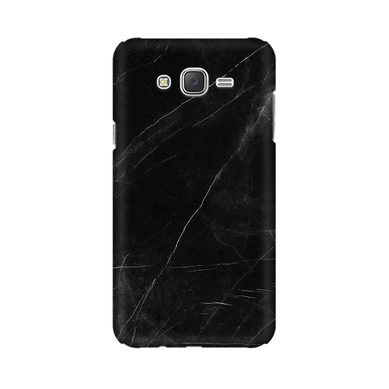 Black stone Samsung Galaxy J2 (2017) Mobile Cover Case