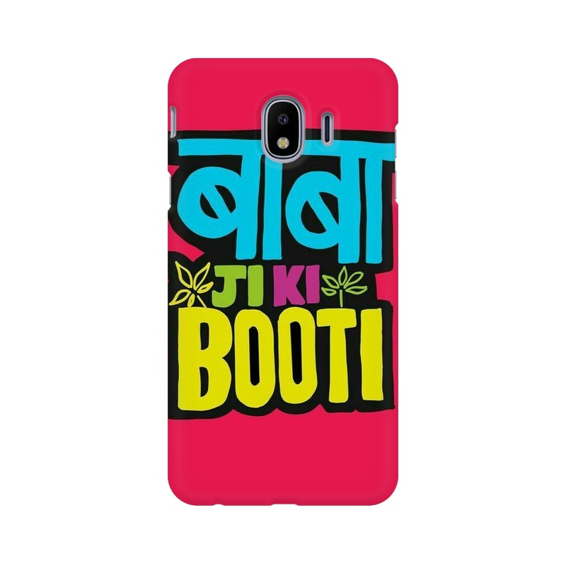 Baba ji ki Booti Samsung Galaxy J4 Mobile Cover Case