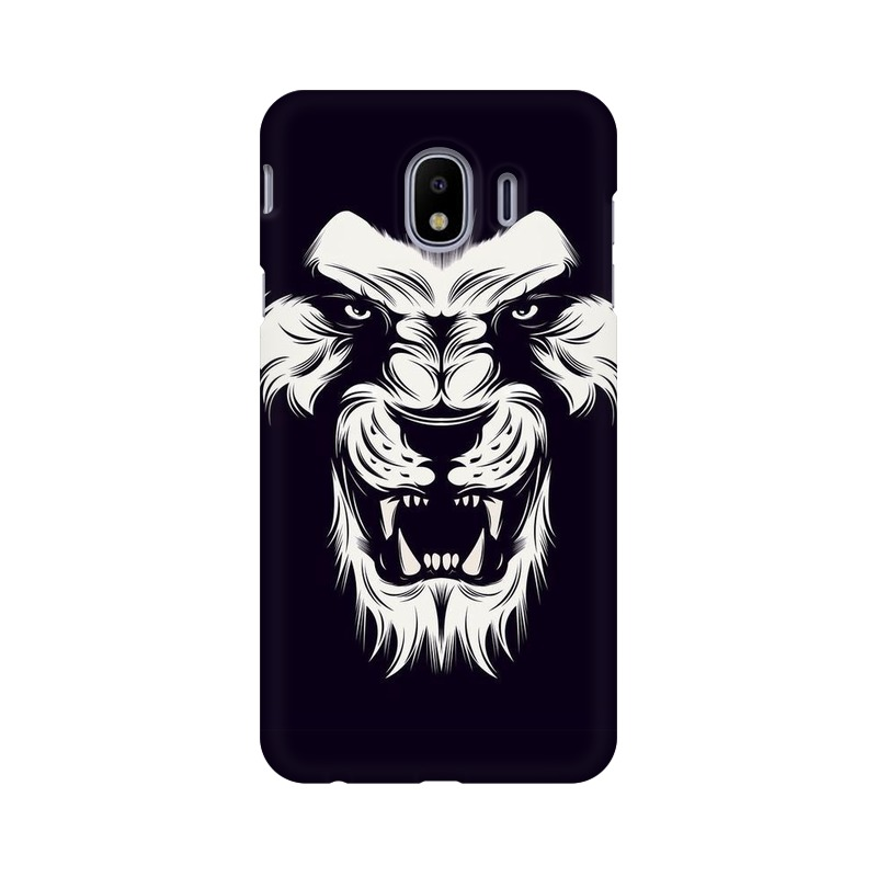 Angry Wolf Samsung Galaxy J4 Mobile Cover Case