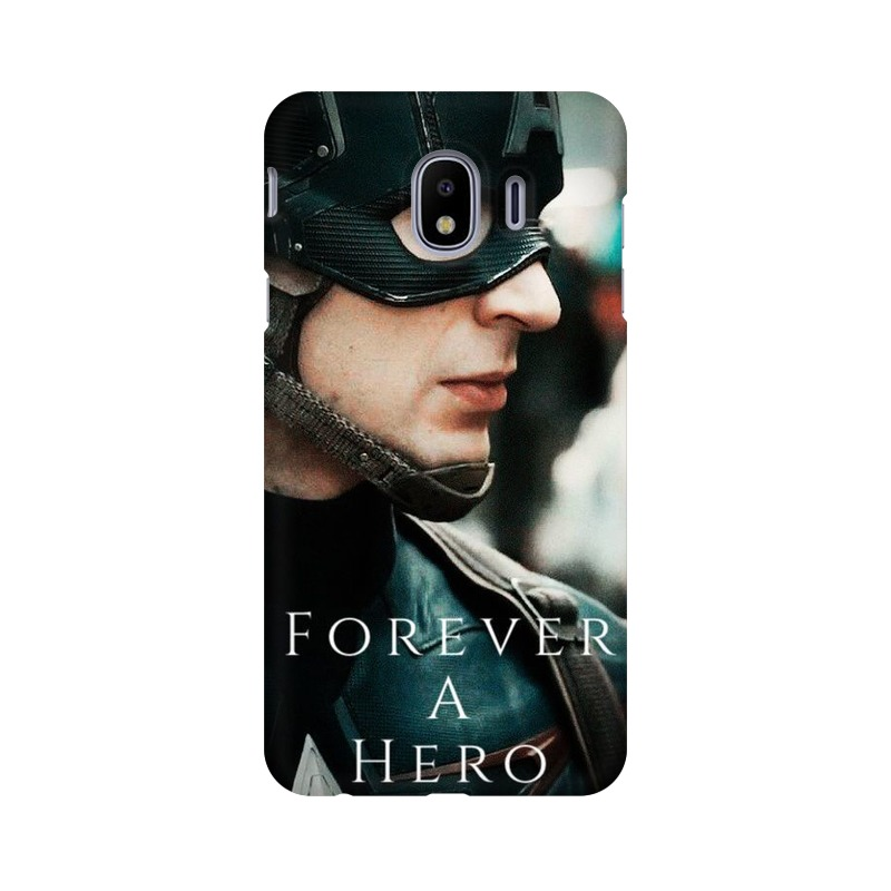 A True Hero Captain America Samsung Galaxy J4 Mobile Cover Case