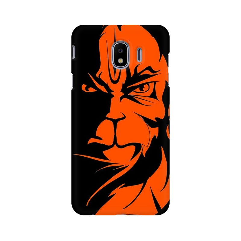 Angry Hanuman Samsung Galaxy J4 Mobile Cover Case
