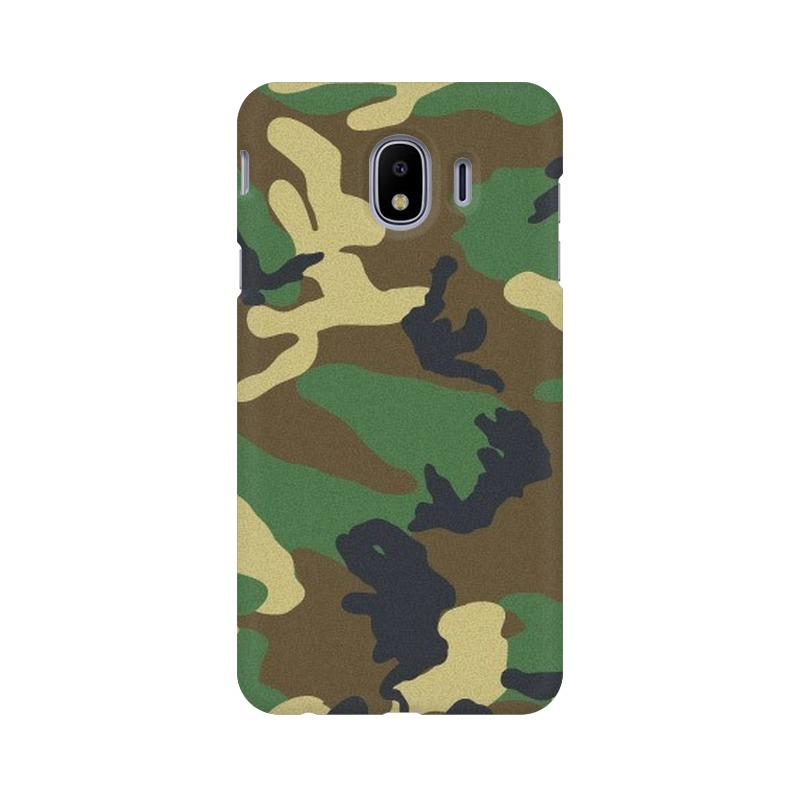 Army Texture Samsung Galaxy J4 Mobile Cover Case