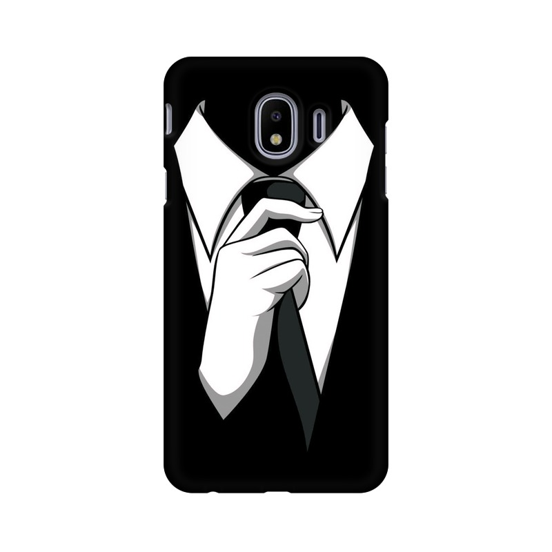 Anonymous Tie Samsung Galaxy J4 Mobile Cover Case