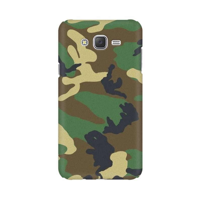Army Texture Samsung Galaxy J5 Mobile Cover Case