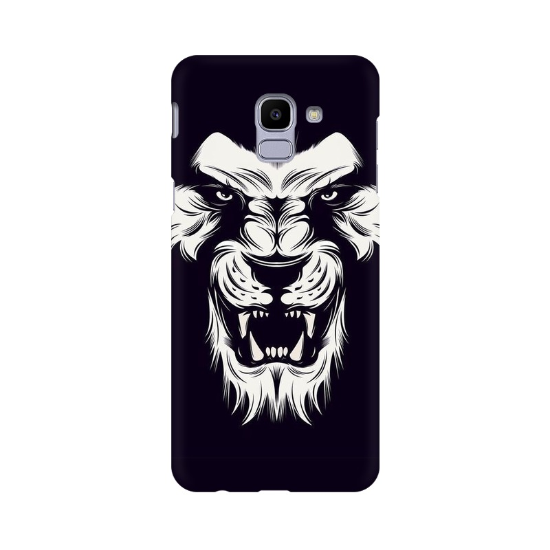 Angry Wolf Samsung Galaxy J6 Mobile Cover Case