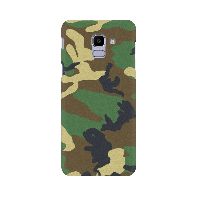 Army Texture Samsung Galaxy J6 Mobile Cover Case