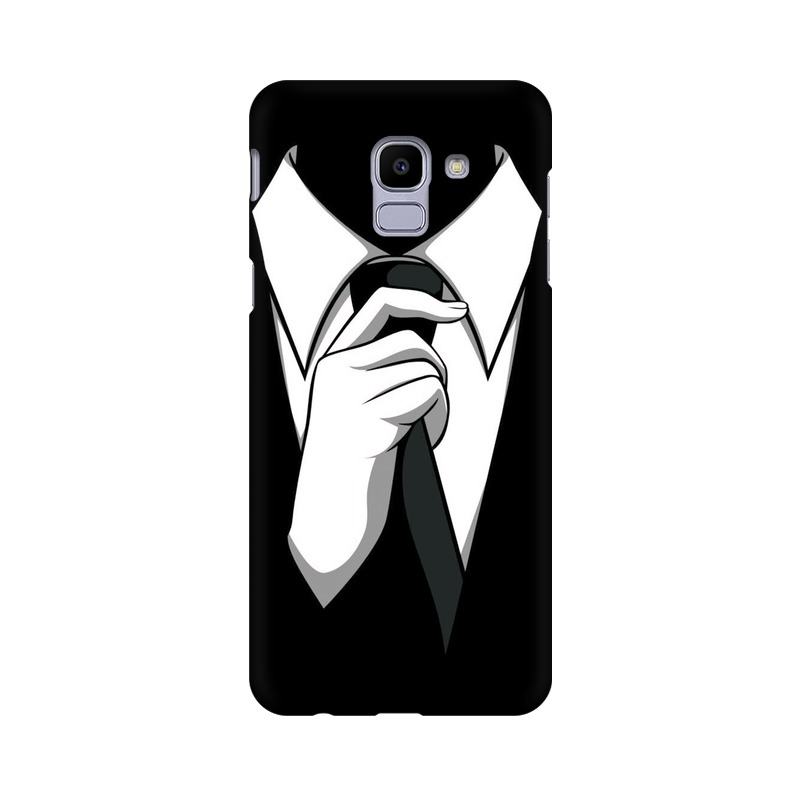 Anonymous Tie Samsung Galaxy J6 Mobile Cover Case