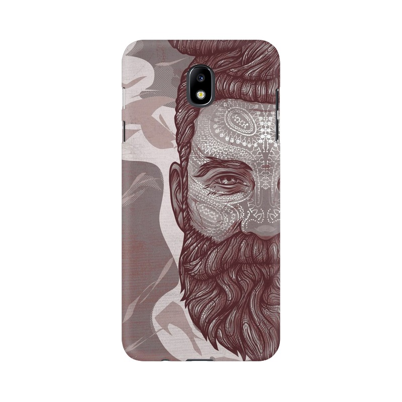 Beardo Man Samsung Galaxy J7 Pro Mobile Cover Case