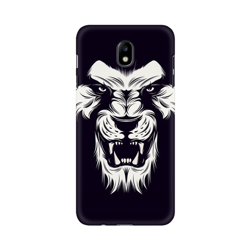 Angry Wolf Samsung Galaxy J7 Pro Mobile Cover Case