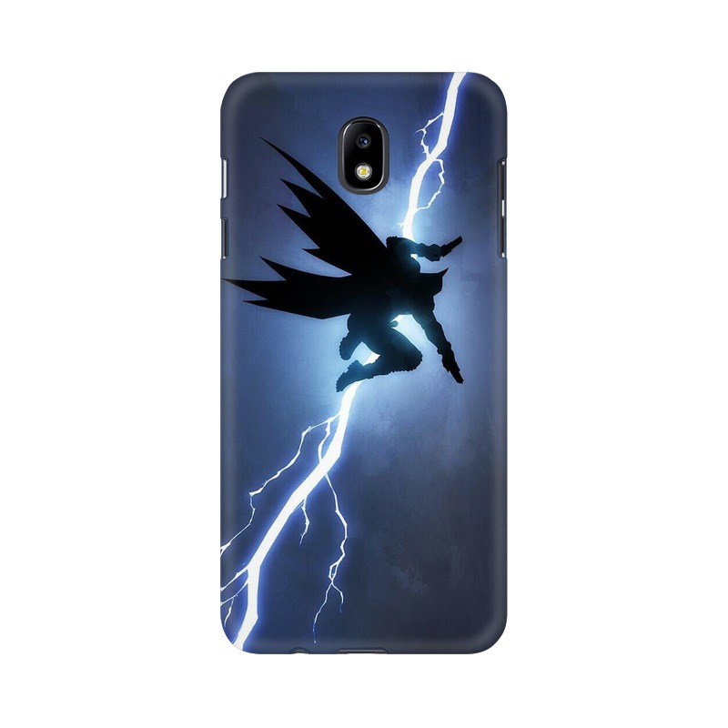 Batman Thunder Samsung Galaxy J7 Pro Mobile Cover Case