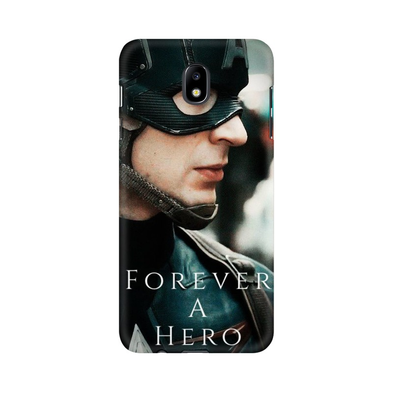 A True Hero Captain America Samsung Galaxy J7 Pro Mobile Cover Case