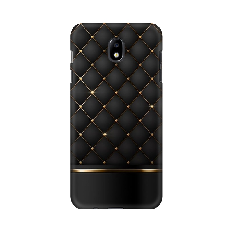 Black Gold Shine Texture Samsung Galaxy J7 Pro Mobile Cover Case