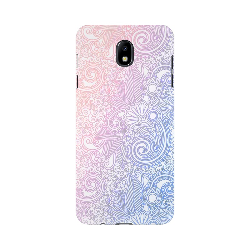 Beautiful rangoli Samsung Galaxy J7 Pro Mobile Cover Case